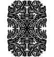 vintage decorative vector image vector image