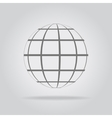 Abstract sphere in a strip vector image vector image