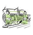 auto repair 6 vector image vector image