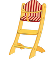 Childrens chair vector image vector image