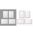 envelope a4 paper white blank letter envelopes vector image vector image