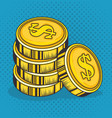 money related design vector image