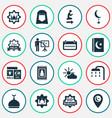 ramadan icons set collection of arabic