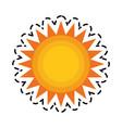 sun representation icon image vector image vector image