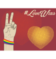 love wins vector image