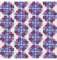 Celtic knot abstract seamless colorful pattern vector image