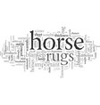 equestrian products vector image vector image