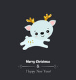 merry christmas card merry christmas card vector image
