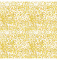 seamless gold handmade texture gold sparkles vector image