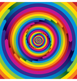 Spiral rainbow infinite design vector | Price: 1 Credit (USD $1)