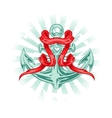 Tattoo Anchor vector image