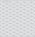 white embossed pattern plastic grid vector image