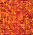 Autumn glass mosaic vector image