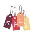 Set of Sale Tags with Word Sale Discount Poster vector image