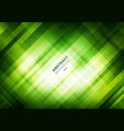 abstract striped green grid pattern with lighting vector image vector image