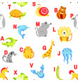 Alphabet animals and letters study material