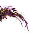 color-splash vector image