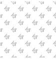 pterodactyl pattern seamless vector image