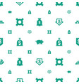 savings icons pattern seamless white background vector image vector image