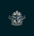 the emblem of a military aircraft aircraft logo vector image