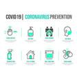 Variety coronavirus prevention set