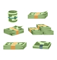 Dollar money symbol icon vector image vector image