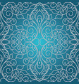 dotted elegance floral seamless pattern vector image vector image