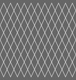 geometric grid cell rhombus pattern background vector image vector image