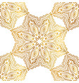 gold abstract seamless patterns vector image