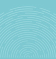 abstract blue circles spin pattern lines vector image