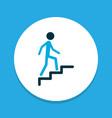 climbing icon colored symbol premium quality vector image