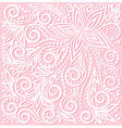 floral pattern a design element in wedding style vector image vector image