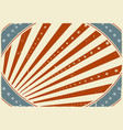 fourth of july holidays poster background vector image vector image