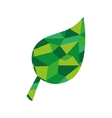 leaf plant abstract green icon graphic