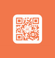 qr code icon sign symbol vector image