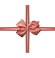 Satin pink ribbon Gift bows