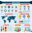 Sports Infographics Set vector image