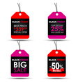 Tags Black Friday sale vector image vector image