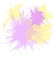 Watercolor blots hand drawn background vector image vector image