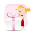 girl birthday vector image
