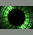 circle digital abstract sheet layer background vector image vector image