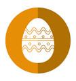 easter egg season celebrate shadow vector image vector image
