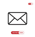 email icon envelopemail symbol message sign vector image
