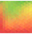 Geometric abstract background with triangles vector image