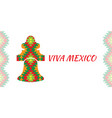 independence day mexico concept mexican vector image vector image
