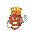 king american football character cartoon