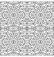 mandala doodle drawing seamless ornament ethnic vector image vector image