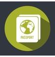 passport design vector image vector image