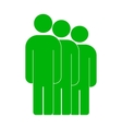 People or social sign icon vector image vector image