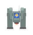 robotic machine robotic engineering concept vector image vector image